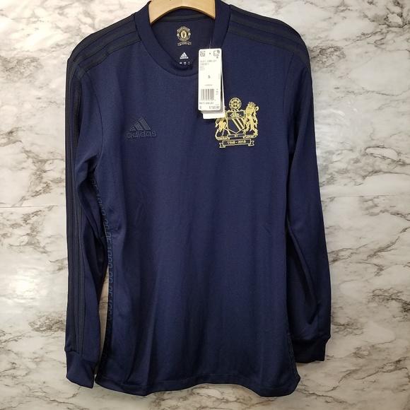 RARE Adidas Manchester United FC 1968 Jersey Sz S